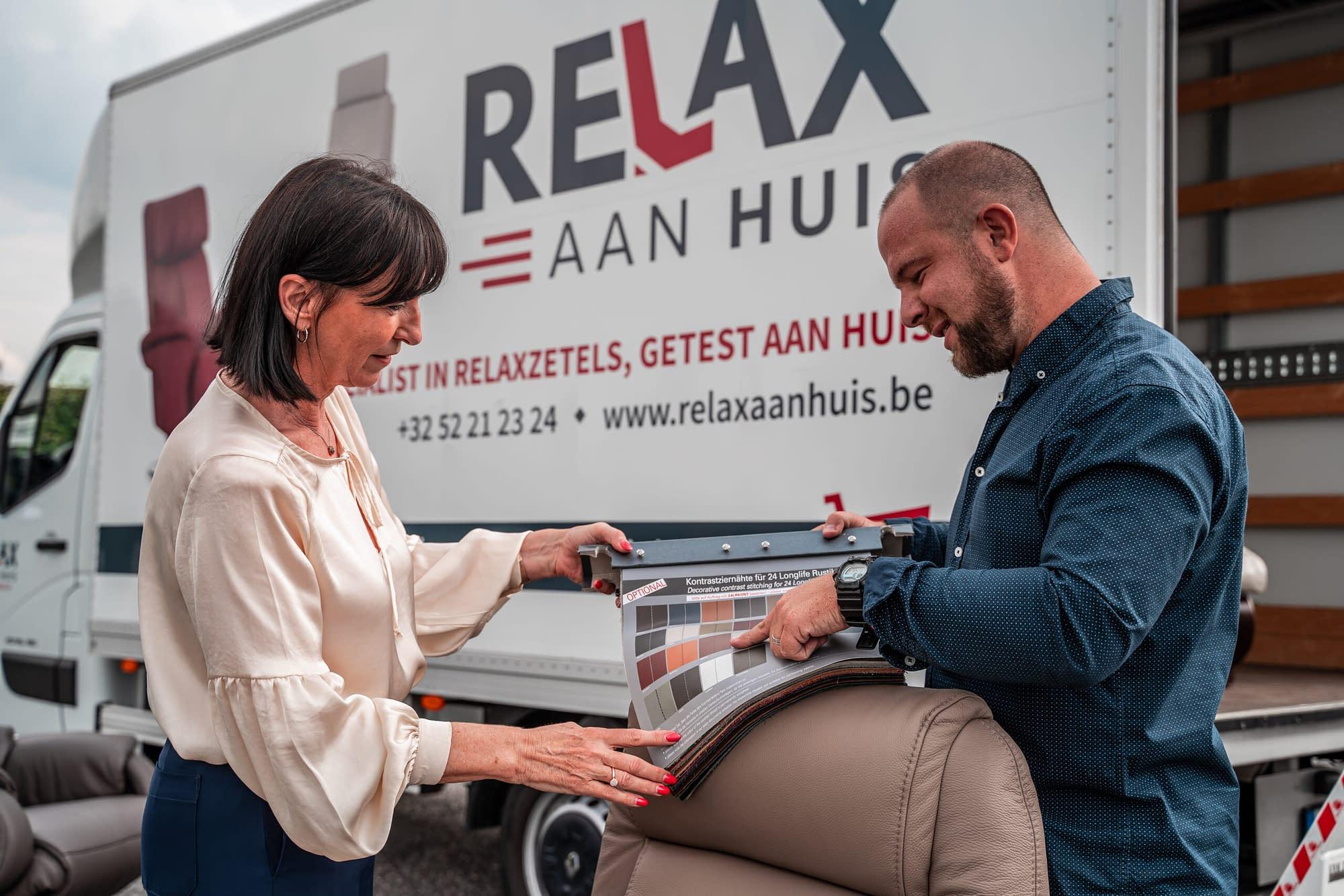 Test relaxzetels gratis aan huis